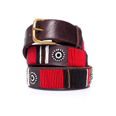 Red multi belt