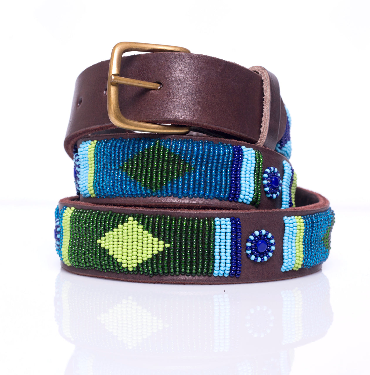 Blue Green Multi belt