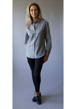 Brushed Cotton Button-Up