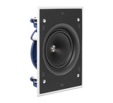 "KEF Ultra Thin Bezel 6.5"" Rectangular In Wall Speaker."