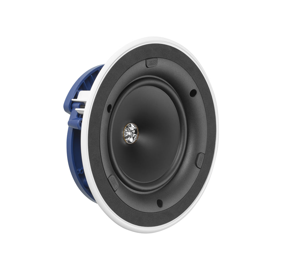 "KEF Ultra Thin Bezel 6.5"" Round In-Ceiling Speaker."