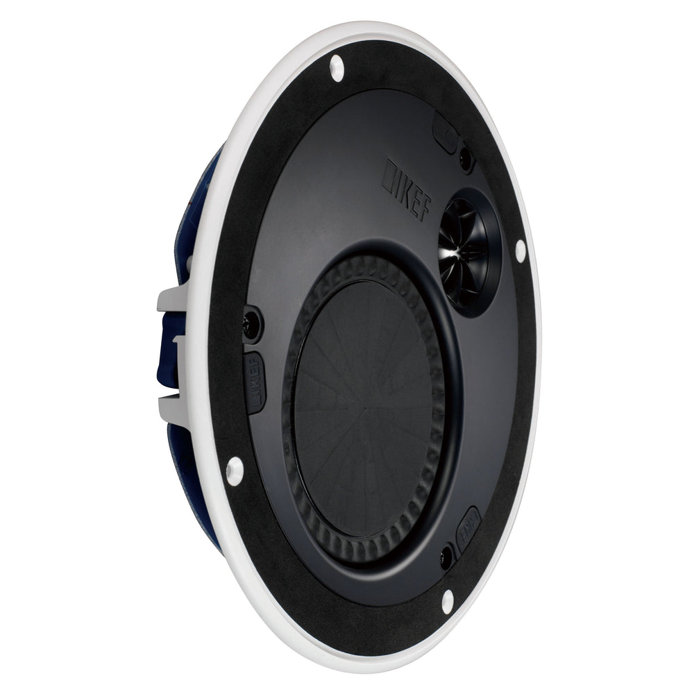 "KEF 36mm Bezel 4.5"" Round In Ceiling Speaker."