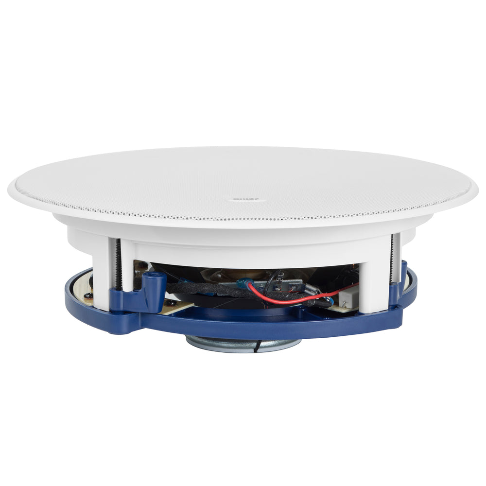 "KEF Ultra Thin Bezel 8"" Round In Ceiling Speaker."