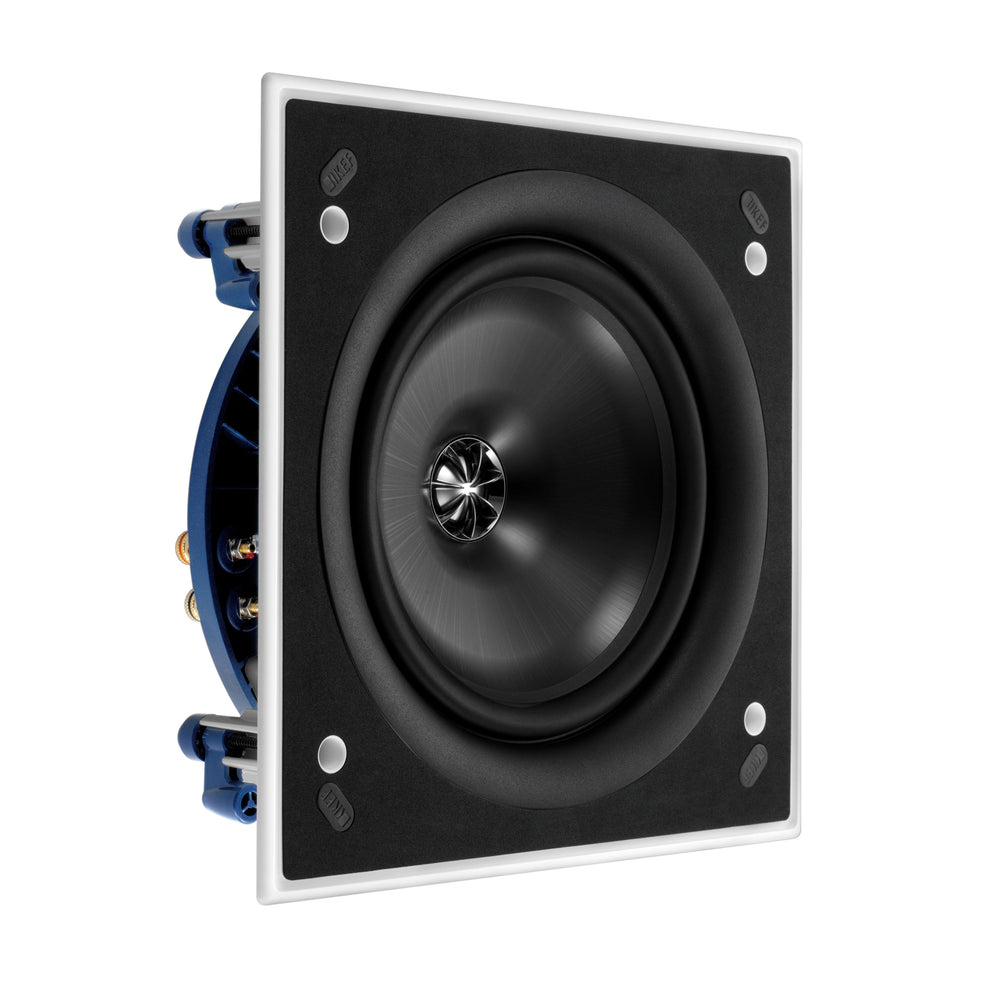 "KEF Ultra Thin Bezel 8"" Square In Ceiling Speaker."