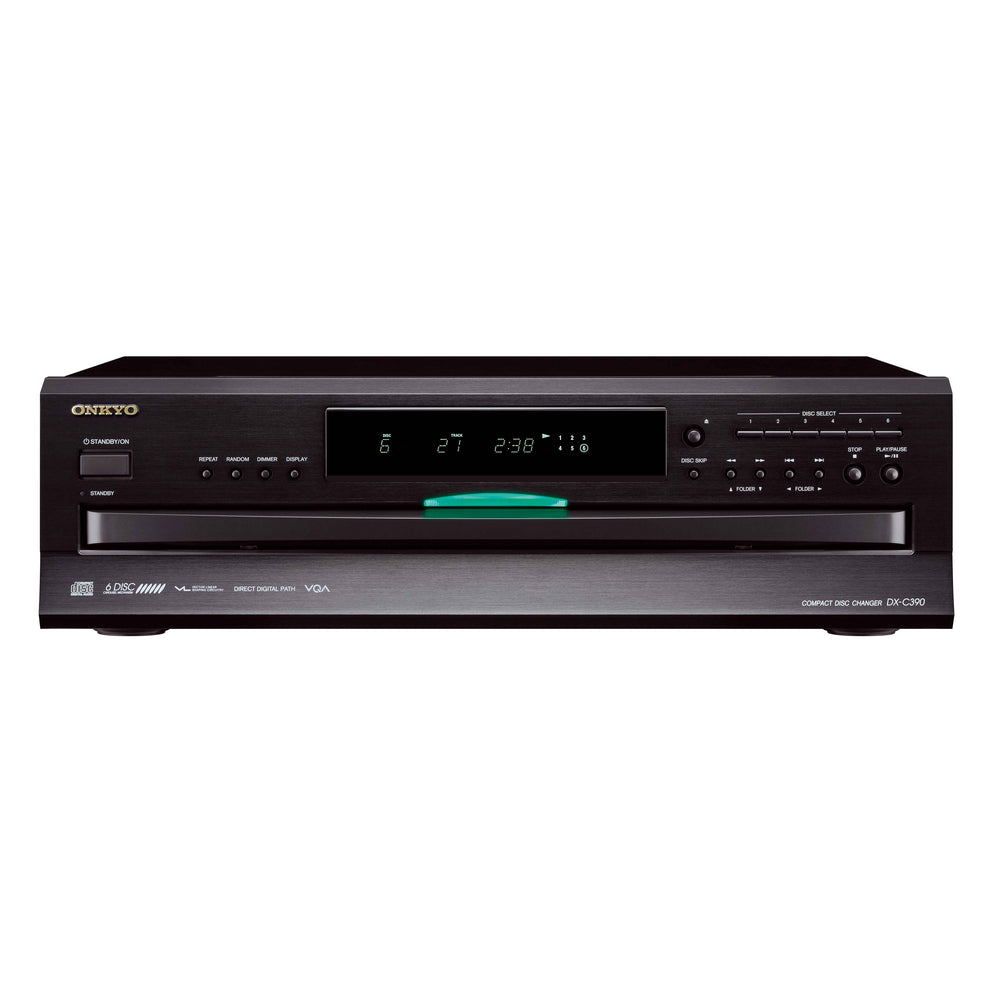 DX-C390 Black - 6-Disc CD Carousel Changer - Repaired Unit