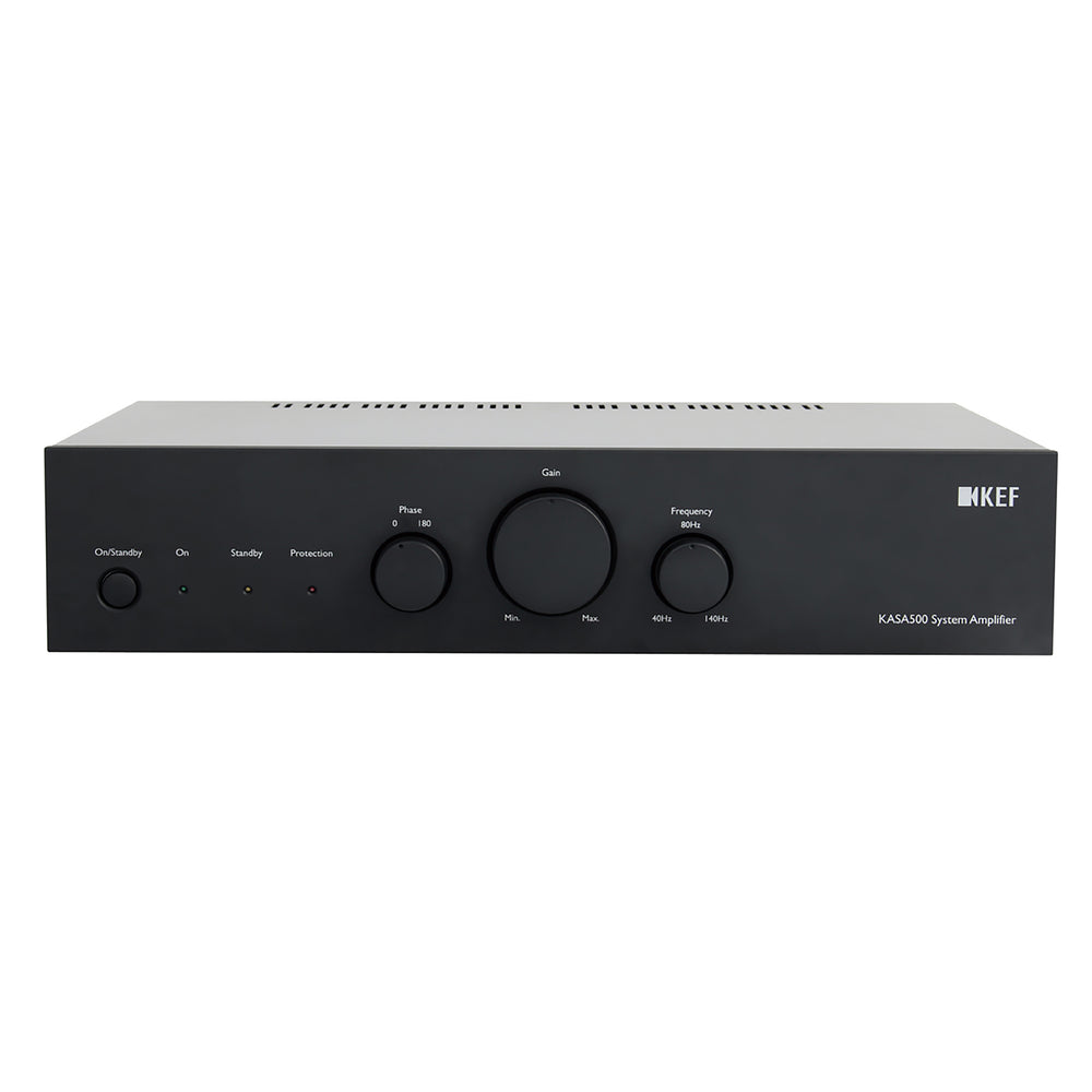 KEF Powerful Class-D Dual 250WPC Amplifier for KEF Ci In Wall Subwoofer.
