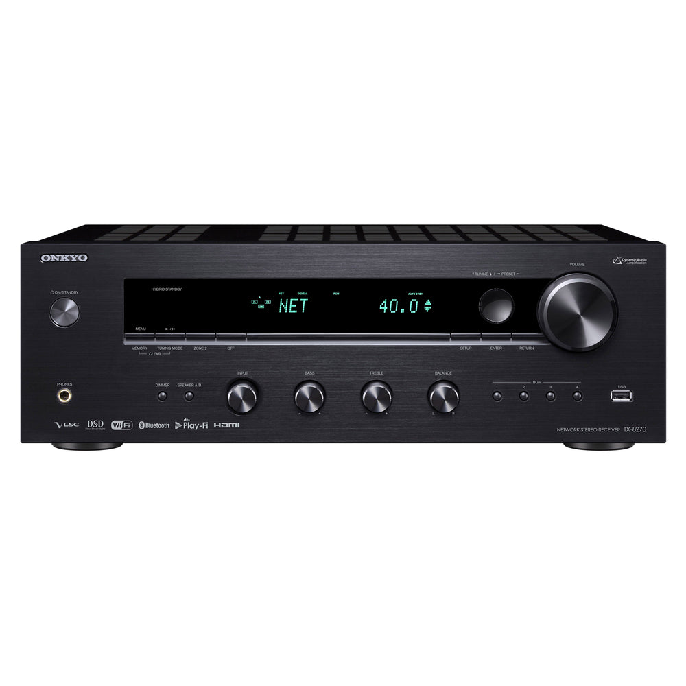 ONKYO Network Stereo Receiver.