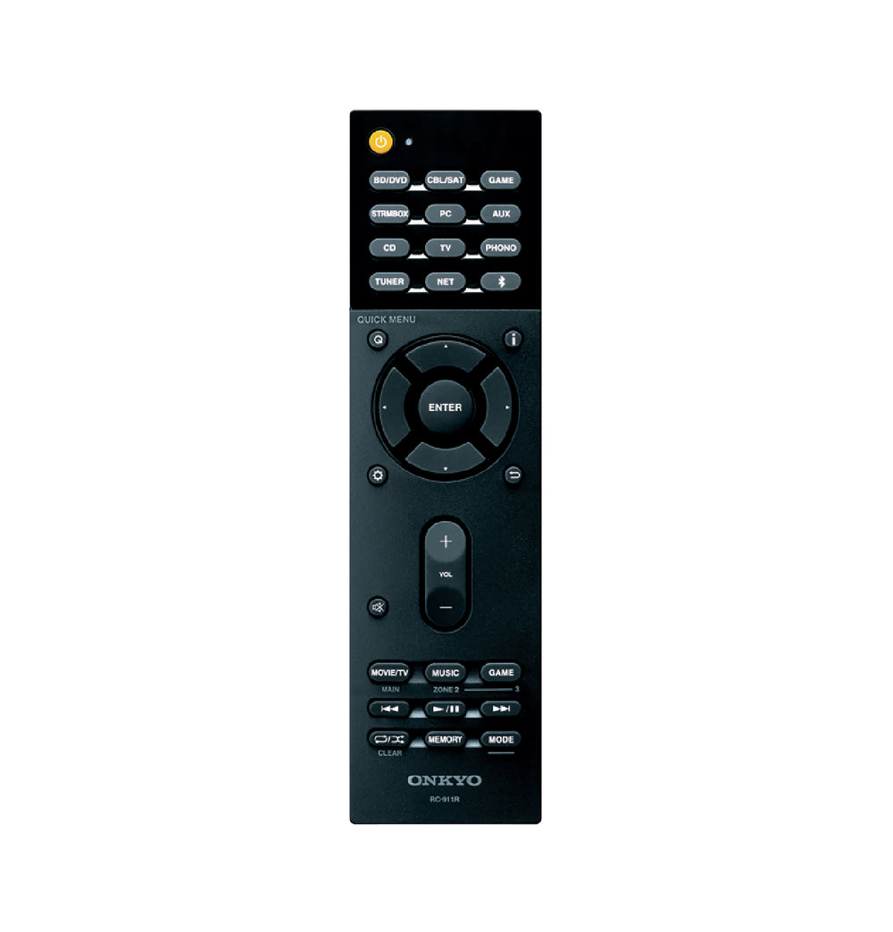 Onkyo Remote to suit TX-NR555, TX-NR656, TX-NR676, TX-RZ710 and others.