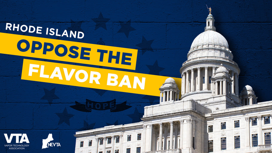 RI – Speak Up Against the Flavor Ban (Public Hearing – Jan. 7, 2020)