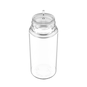 CHUBBY GORILLA - 100ML UNICORN BOTTLE - CLEAR BOTTLE/NATURAL CAP  V3 - Fulfillment Center