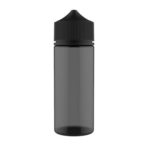 CHUBBY GORILLA - 120ML UNICORN BOTTLE - BLACK BOTTLE/BLACK CAP V3 - Fulfillment Center