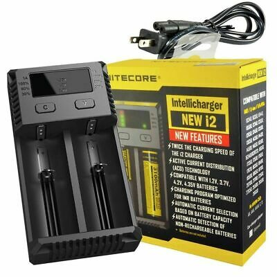 Nitecore i2 2 Channel Battery Charger - Fulfillment Center