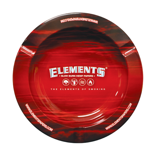 ELEMENTS METAL MAGNETIC RED ASHTRAY - The Billi Billi Store