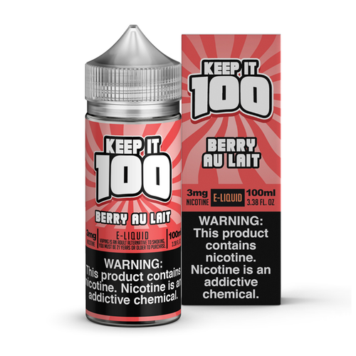KEEP IT 💯 100ML - CLEARANCE - Fulfillment Center