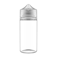 Load image into Gallery viewer, CHUBBY GORILLA - 100ML UNICORN BOTTLE - CLEAR BOTTLE/NATURAL CAP  V3 - Fulfillment Center