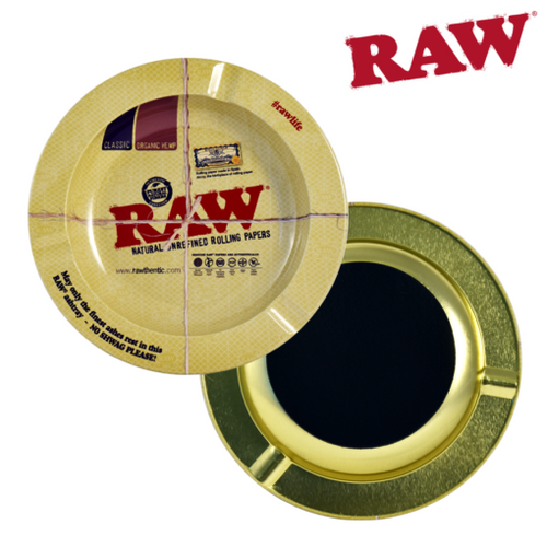 RAW - Metal Ashtray with Magnet - (USA) - Fulfillment Center