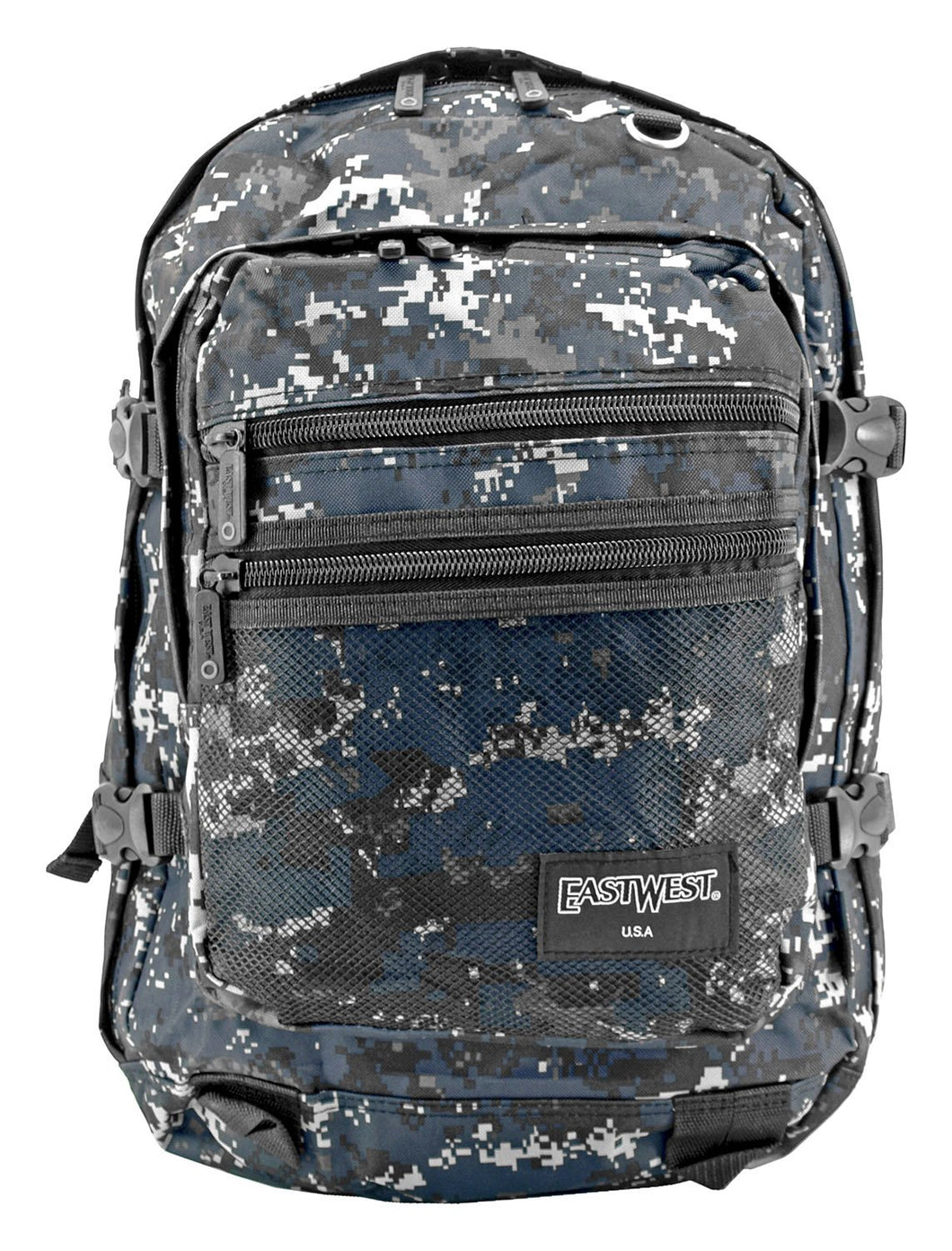 EASTWEST USA BLUE DIGI CAMO ALL SEASON BACKPACK - Fulfillment Center