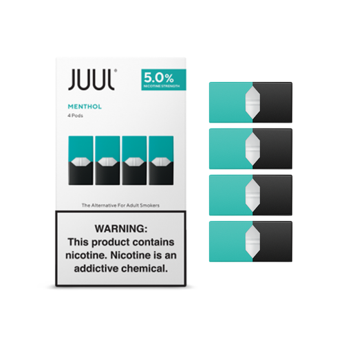 JUUL MENTHOL PODS - EXCLUDES MASS RESIDENTS