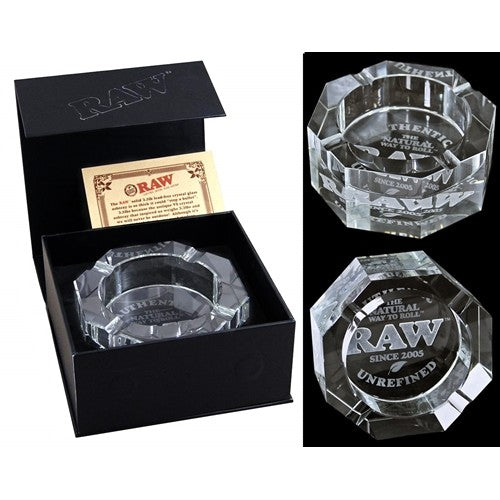 RAW - Lead Free Crystal Ashtray