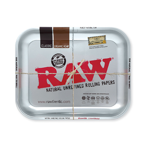 Raw Rolling Tray Metal - Large - Fulfillment Center