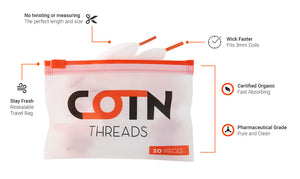 COTN 100% ORGANIC COTTON THREADS