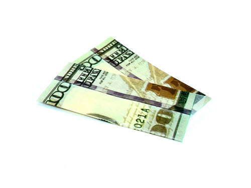 BATTERY WRAP $100 BILL 18650 (2PK) BY BILLI BILLI - Fulfillment Center