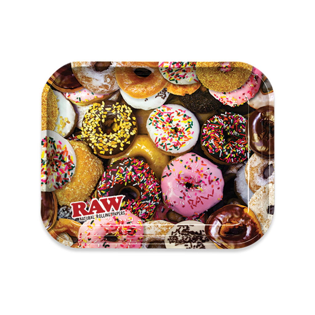 Raw Rolling Tray Donuts - Large - Fulfillment Center