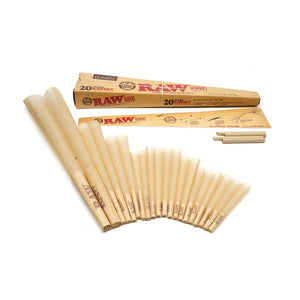 RAW - Classic Pre-Roll Cone - 20 Stage Rawket Launcher -(USA/EU) - Fulfillment Center