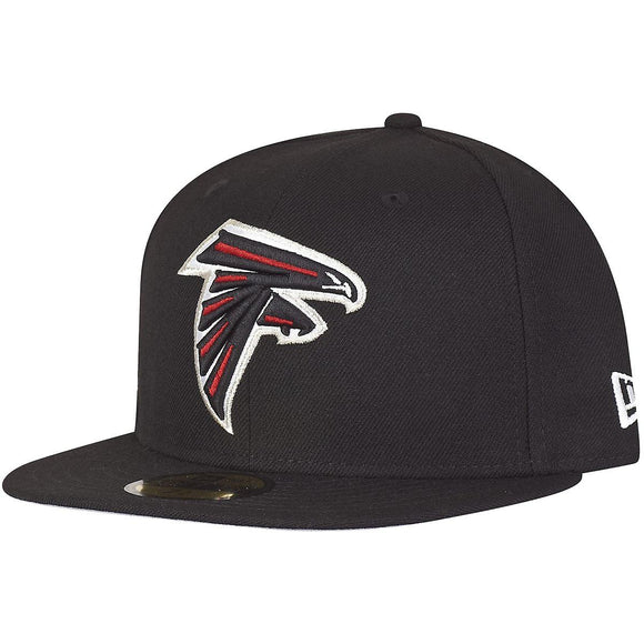 NEW ERA ATLANTA FALCONS BLACK 59FIFTY