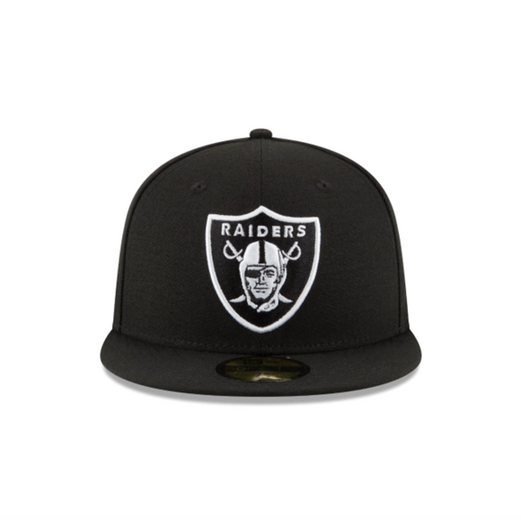 NEW ERA RAIDERS BLACK 59FIFTY