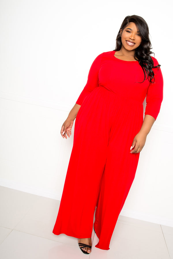 Supersoft Scooped Neck Jumpsuit