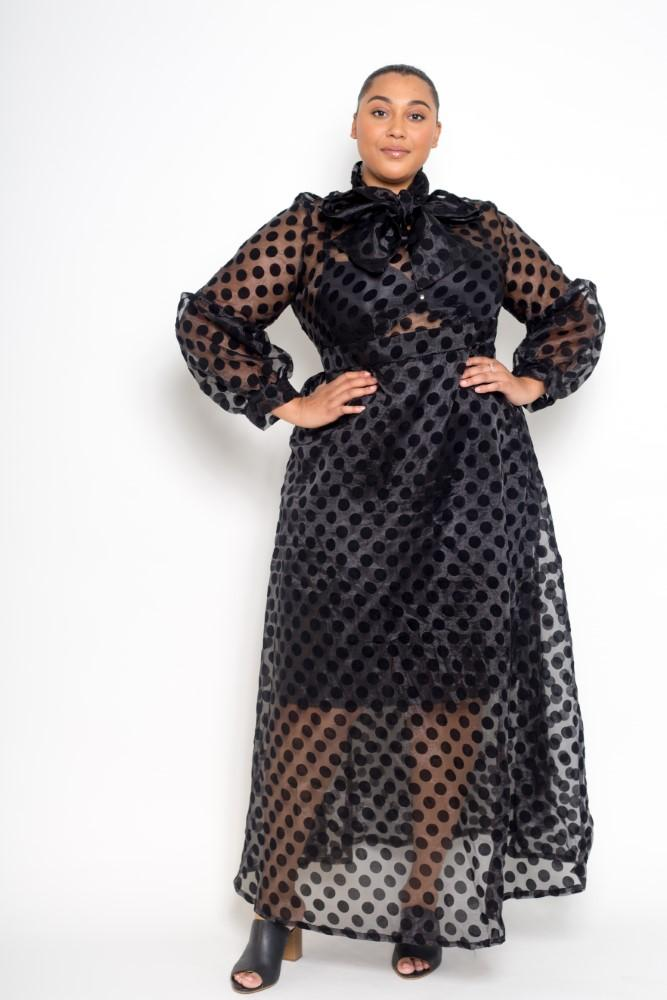 buxom curvy couture plus size womensbuxom curvy couture plus size womens polka dot flocking organza cocktail dress in blackbuxom curvy couture plus size womens polka dot flocking organza cocktail dress in black polka dot flocking organza cocktail dress in