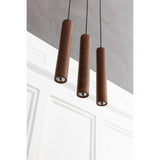 Chimes tube | dark oak