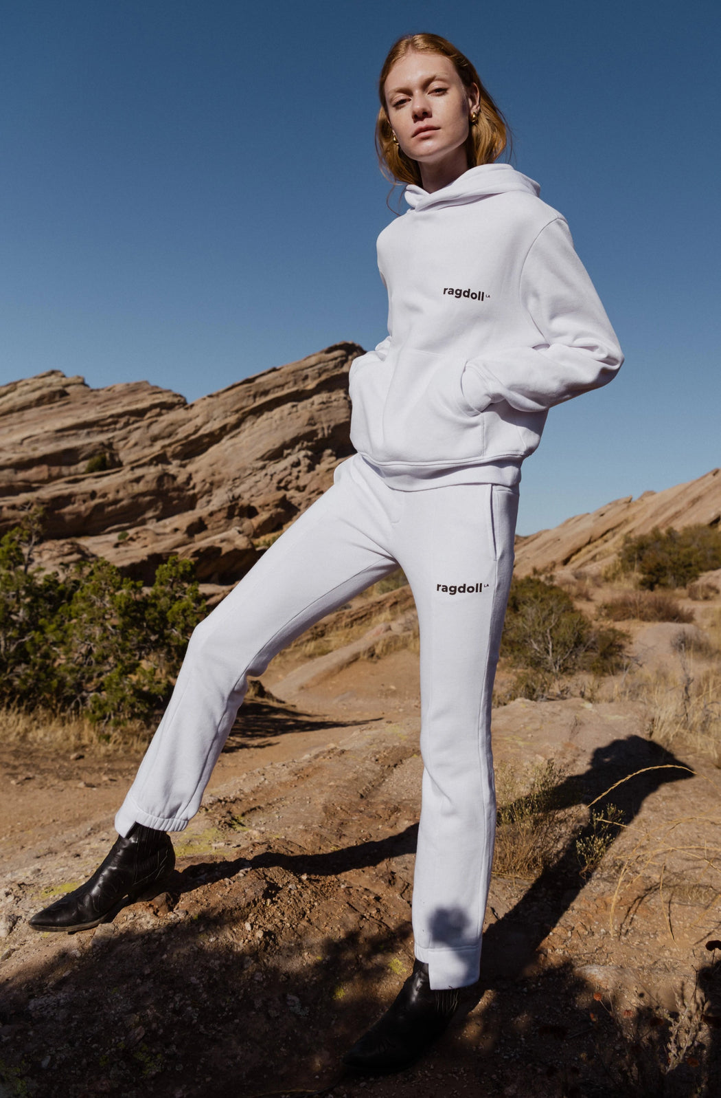 Optic White Jogger