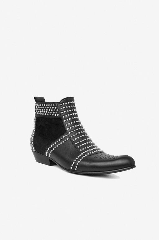 Charlie Boot Silver Studs
