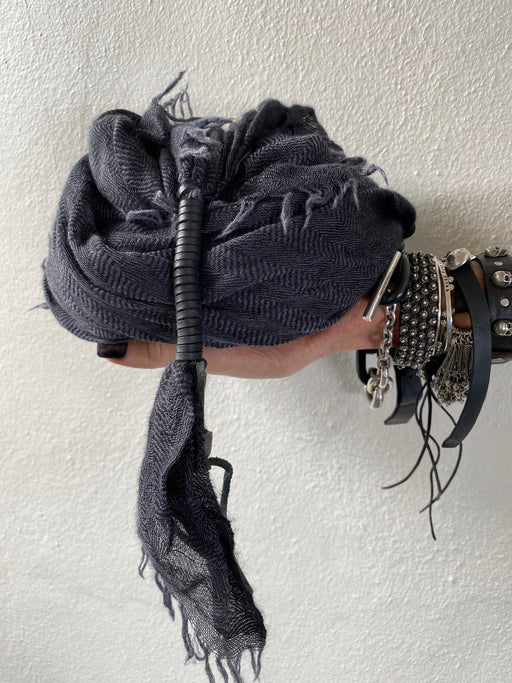 Jack Band Scarf Dark Grey