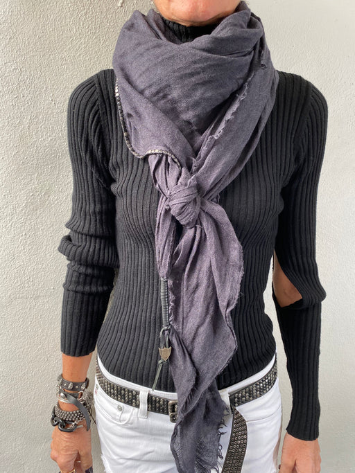 Swashy Scarf Anthracite