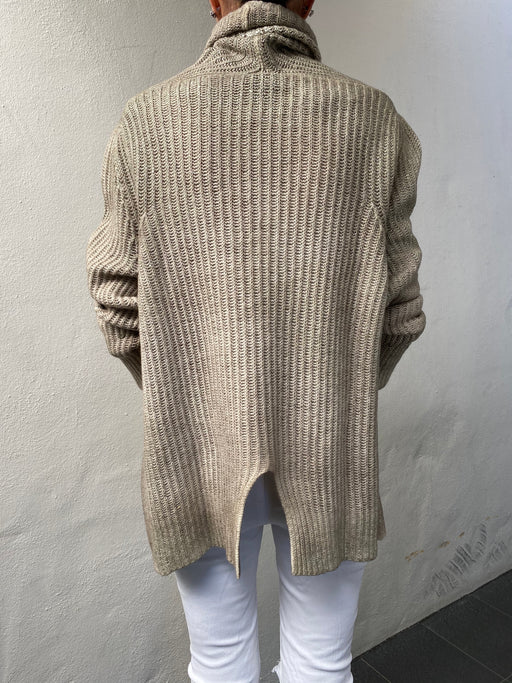 Cashmere Wool Beaded Sweater