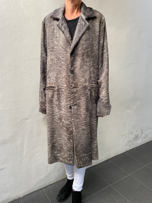 Alpaca Wool Knit Coat