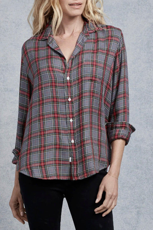 Eileen Grey Green Red Plaid