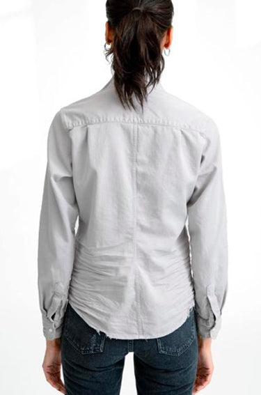 Barry Distressed Denim Stone Grey