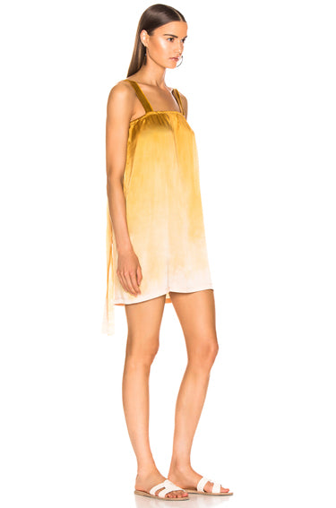 Cami Dress Gold Tie Dye