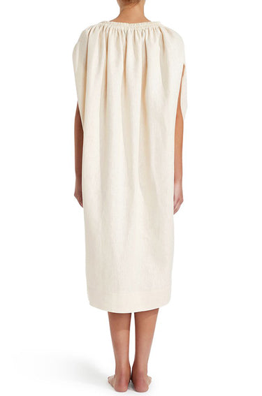 Cocoon Dress Ivory