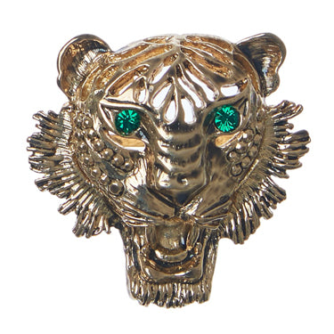 Bag Strap Ocelot - Gold Tiger Green Eye