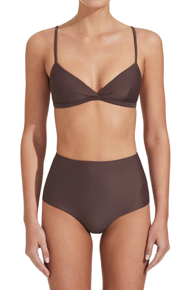 High Waist Brief Clove