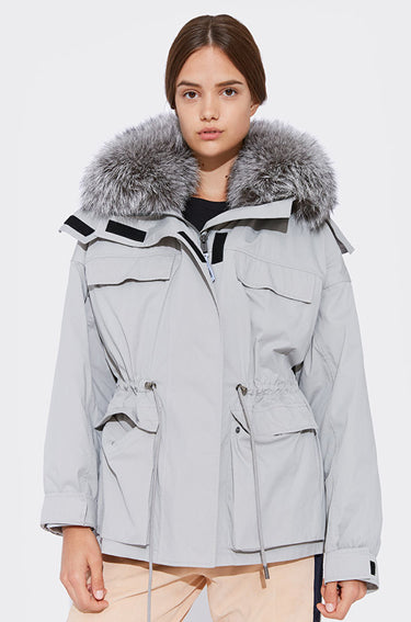 Iconic Parka with Fox Fur Collar