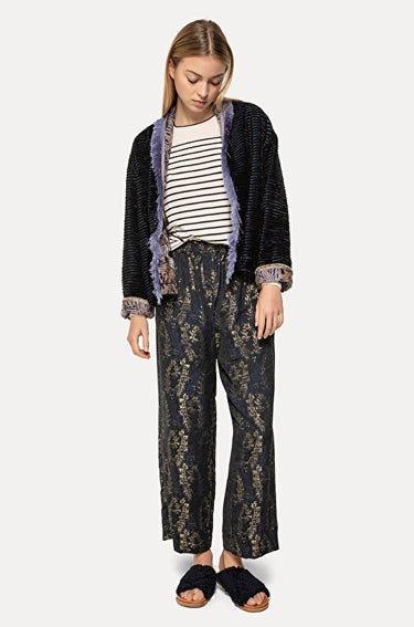 Jacquard Pants 'Gipsy Gold'