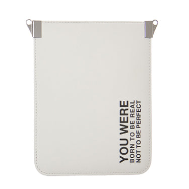 Phone Bag Print White