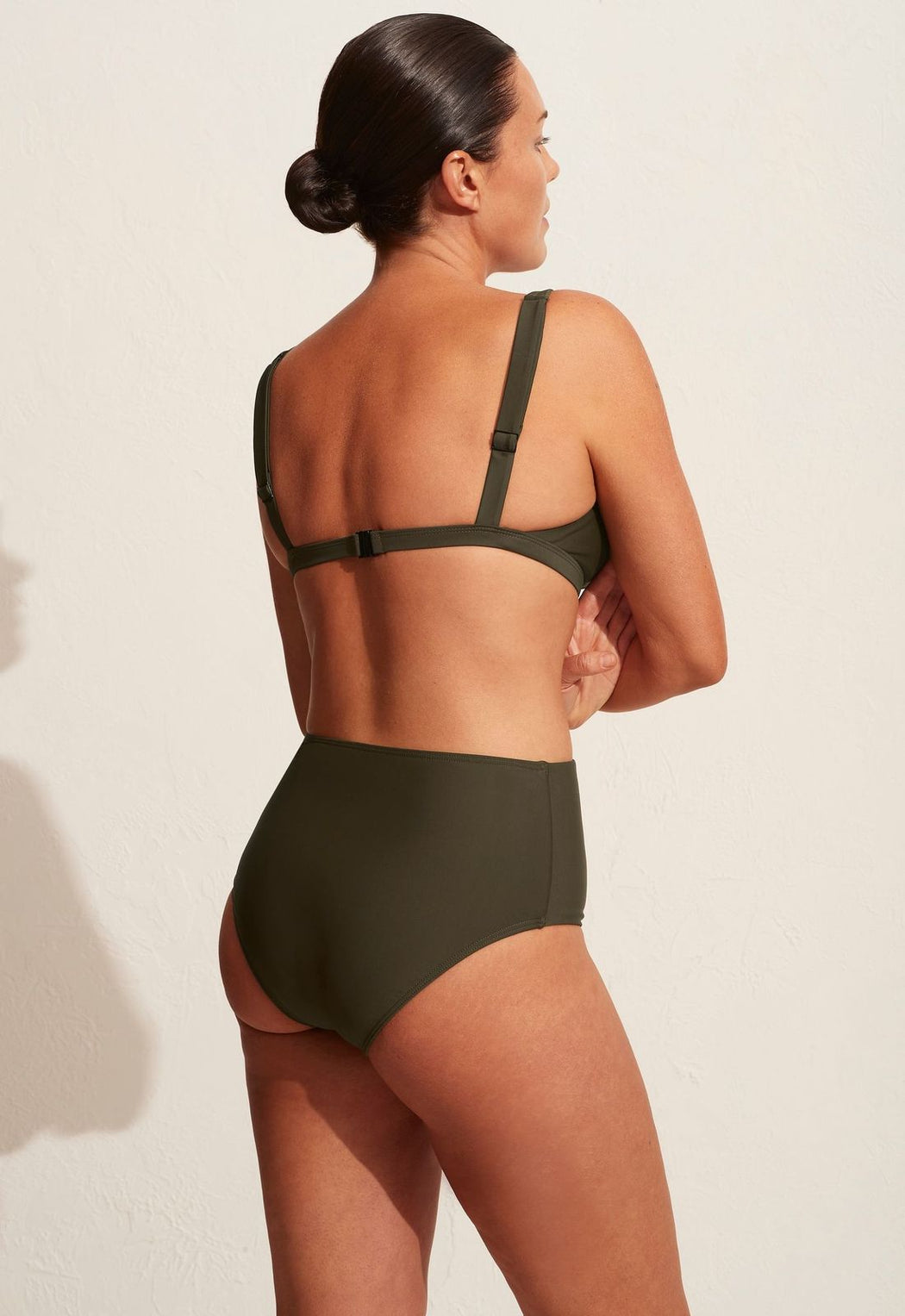 High Waisted Brief Thyme