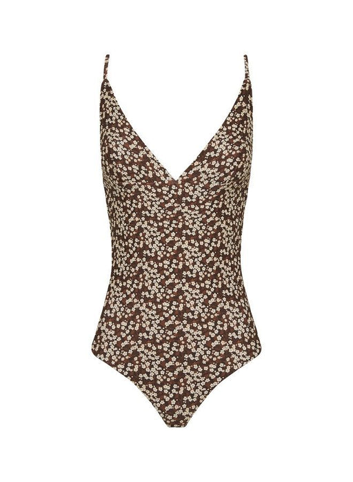 Plunge Maillot Blossom